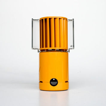 Vintage Electric Desk Fan HL 70 in Orange by Braun, Germany - 70's Vintage - MOMA Collection