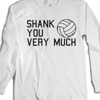 Shank You Very Much-Unisex White T-Shirt