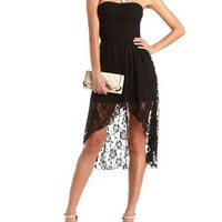 Hi-Low 2-Fer Party Dress: Charlotte Russe