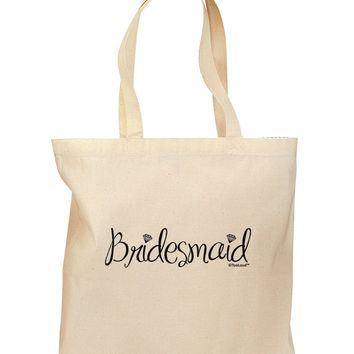 Bridesmaid Design - Diamonds Grocery Tote Bag