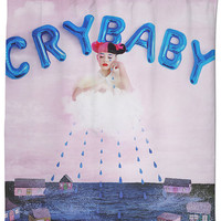 Melanie Martinez Crybaby Shower Curtain
