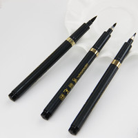 1pcs Chinese Calligraphy Soft Nib Brush Gel Pen Office Stationery Writing Instruments Multifunction Pen