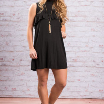 In It To Win It Dress, Black