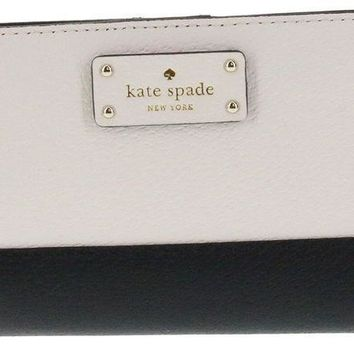 Kate Spade New York Tellie Grove Street Embossed Leather Wallet