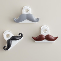 Mustache Bag Clips, Set of 3 - World Market
