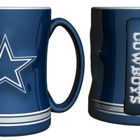 Boelter Dallas Cowboys Coffee Mug  15oz Sculpted