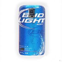 Drink Bud Light Beer For Samsung Galaxy S5 Case