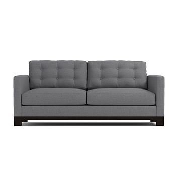 Logan Drive Queen Size Sleeper Sofa :: Leg Finish: Espresso / Sleeper Option: Memory Foam Mattress