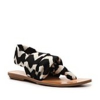 Dirty Laundry Beka Chevron Flat Sandal