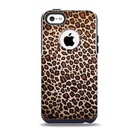 The Vibrant Cheetah Animal Print V3 Skin for the iPhone 5c OtterBox Commuter Case
