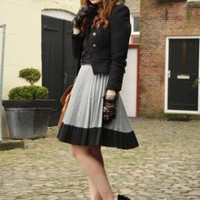 Ployy Jacket, H&M Skirt //    A life lived in love will never be dull by Iris . // LOOKBOOK.nu