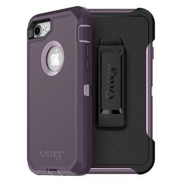 Otterbox Defender Series Case For Iphone 8 & Iphone 7 (not Plus)   Frustration Free Packaging   Purple Nebula (winsome Orchid/night Purple)