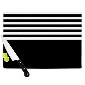 "Trebam ""Roletna"" Black White Cutting Board"