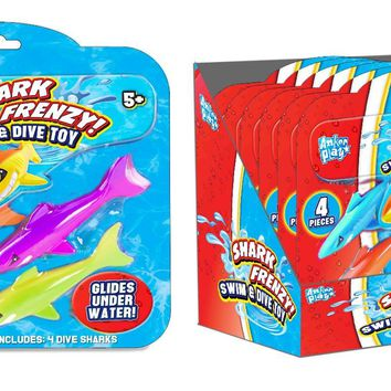 Shark Frenzy Swim and Dive Toy - CASE OF 6