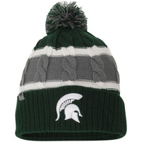 Toddler Top of the World Green Michigan State Spartans Windy Knit Hat