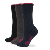 Wrangler Women's Cushion Angora Boot Sock
