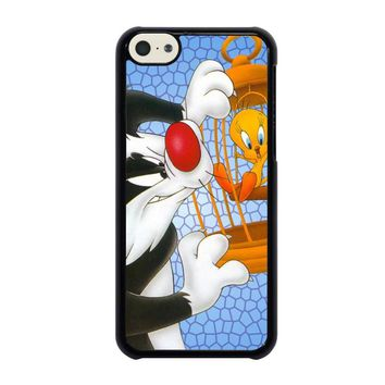 SYLVESTER AND TWEETY Looney Tunes iPhone 5C Case Cover