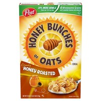 Honey Bunches of Oats Crunchy Honey Roasted Breakfast Cereal - Post