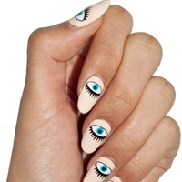Seeing Eyes Nail Wrap