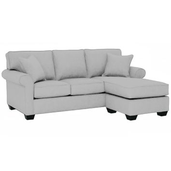 Lafayette Reversible Chaise Sofa in STONE - CLEARANCE