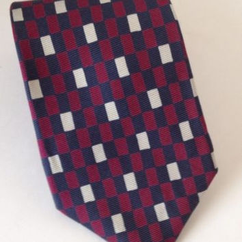 Brooks Brothers Tie Mens Silk Neck Tie Blue 3 3/4 x 60 USA Classic