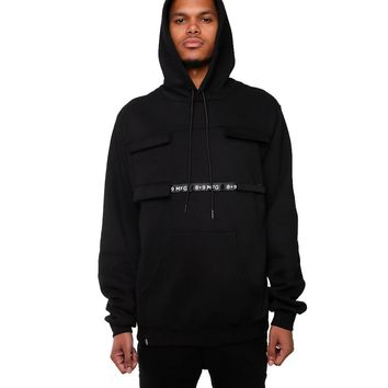 Strapped Up Vintage Hoodie with Pockets