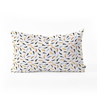 Elisabeth Fredriksson Chili Pattern Oblong Throw Pillow