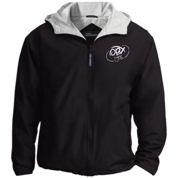 Cloud White OBX Lyfe Port Authority Jacket in 6 Colors