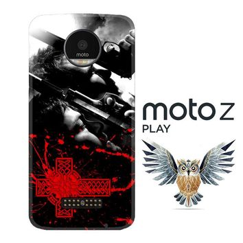 Boondock Saint Movies Series Z0346 Motorola Moto Z Play Case