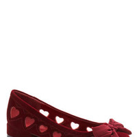 Delight Hearted Flat | ModCloth.com