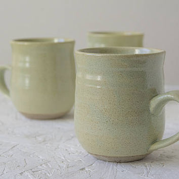 Ceramic Mugs Set, Pottery Mugs, 10oz Mug, Set of Coffee Mugs, Coffee Lover Gift, Mug Gift Set, Kitchenware, Wedding Mug Set, Gift Set