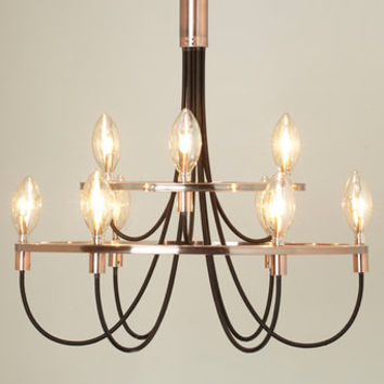 Frederica candelabra in copper - Ceiling Lights - Home, Lighting & Furniture