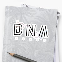 'DNA - BTS (Molecule)' Sticker by amiar15