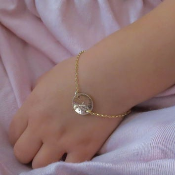 engraved bracelet girl products girls name monogram or little with image