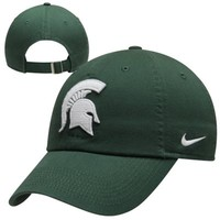Nike Michigan State Spartans Ladies Campus Performance Adjustable Hat - Green