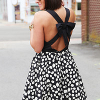 Bow Chic Flare Dress