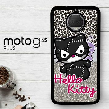 Hello Kitty Catwoman W3152  Motorola Moto G5S Plus Case