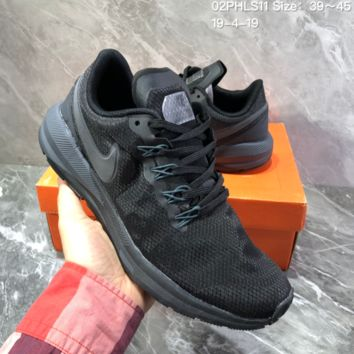 hcxx N1214 Nike Air Zoom 2019 Structure shield Mesh breathable running shoes black