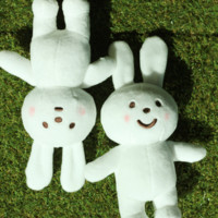 Naughty Rabbit Plush (A Pair)