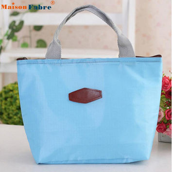 New Fashion Thermo Thermal Insulated Neoprene Lunch Bag Women Kids Lunchbags Tote Cooler Lunch Box Insulation Bag Maison Fabre