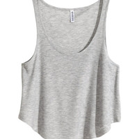 Ribbed Tank Top - from H&M