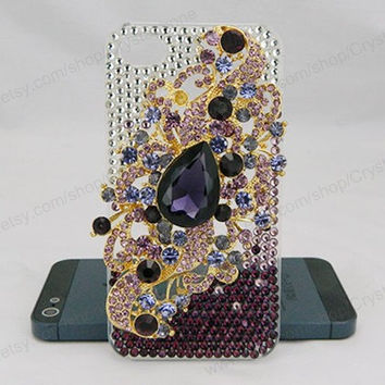 Angel's tears iPhone case,bling iPhone case,iphone 6 case,iphone 6 Plus,iphone 5/5S/5c,iphone 4 case samsung galaxy S3/S4/S5,Purple case