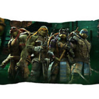 Teenage Mutant Ninja Turtle Zippered Pillow Case 16x24 - 2 sides Cushion Cover