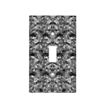 Mosaic #1 light switch cover