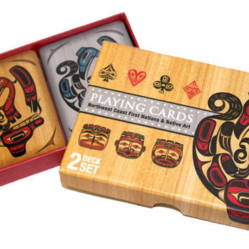 Playing Cards with Northwest Coast First Nations and Native Art