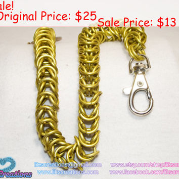 SALE!!! Gold Boxchain Wallet Chain