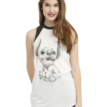 Disney Lilo & Stitch Sketch Muscle Top