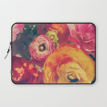 Ranunculus Laptop Sleeve by DuckyB (Brandi)