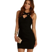 Black Cant Stop Me Bodycon Dress