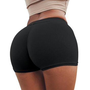 Yoga Shorts Women Sexy Compression Female Fitness Gym Running Shorts for Ladies Sport Athletic Tights Polyester Yoga Shorts